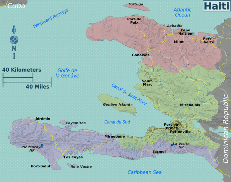 Geography and Environment - Haiti